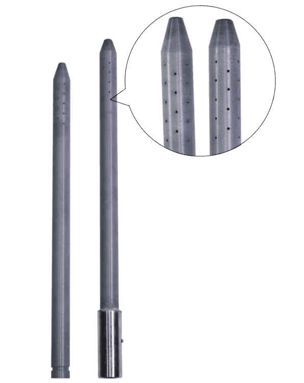 Graphite Fluxing (Degassing) Tubes